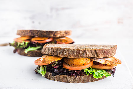 Grilled Chicken on Wholemeal